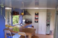 Stacaravan keuken