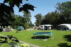Camping met Trampoline