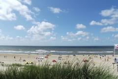 Strand vanuit duinen C