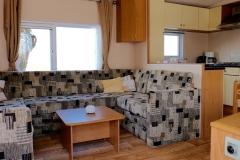 Chalet woonkamer keuken c