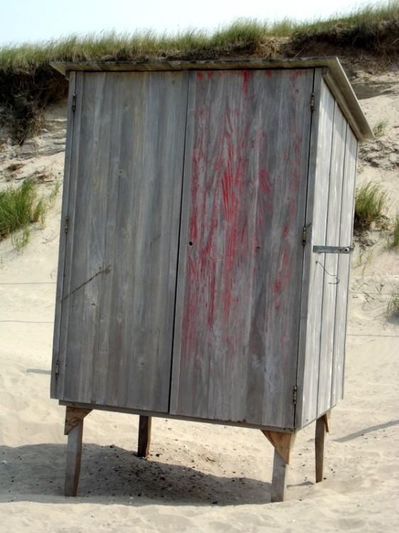 Strandhuisje bij Groote Keeten